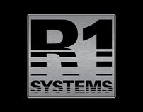 Logo Design for R-1 Systems Audio Company