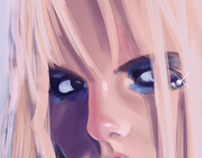 Britney Spears Digital Painting