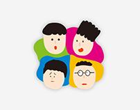 FunFunFamily - Line Sticker
