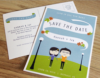 HJ Save the Date Postcard