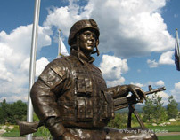 Custom Bronze Military Monuments | Veterans Memorial 1