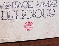 Chardonnay Typeface
