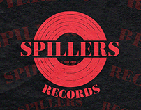 SPILLERS RECORDS // Re-brand