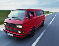 VW T3 Bus - automotive photography