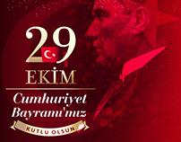 #29Ekim #CumhuriyetBayrami #SocialMedia #Post