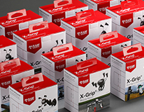 X-Grip® Product Packaging