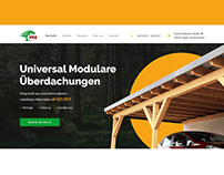Modular carports - Website