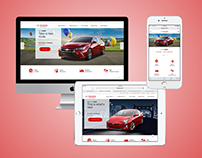 Toyota - Mobile First RWD