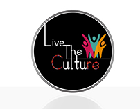 Live The Culture Logo Logo For Culture Graphic Design