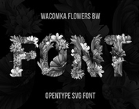 Wacomka Flowers Font