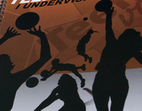 Kids volleyball manual and boardgame