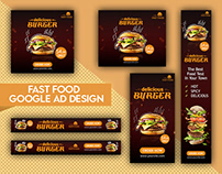 Google AD Banners - Fast Food