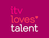 ITV Loves Talent Identity