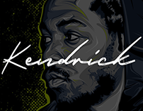 Kendrick Lamar — Vector Illustration