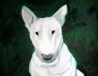 Bull Terriers by Steve Burden