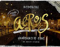Aeros + Extra Font Roast