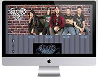 Vultures Above Us Web Design