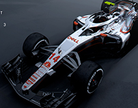 Halo & McLaren MCL33 Livery Concept