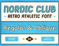 NORDIC CLUB - FREE RETRO FONT