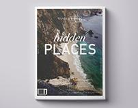 Magazine cover & nameplate design