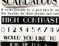 Carraway Typeface