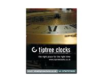 Tiptree Clocks - Identity Design