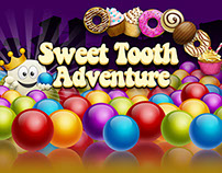 Sweet Tooth Adventure - Bubble Shooter Puzzle game