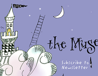 The Muse is In! – Website & Logotype Design