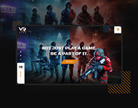 VAR LIVE | VR Gaming Studio - Website Design