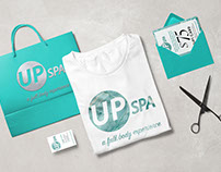 Branding for Up Spa