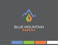 Blue Mountain Energy Brand Identity