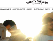 Twenty-One Men Rebrand