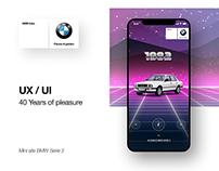 BMW Serie 3   UI/UX - 40 Years of pleasure
