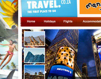 Travel.co.za Web Design