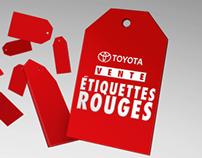 TOYOTA | ÉTIQUETTES ROUGES 2015 | TV