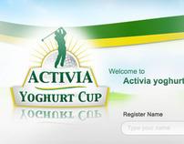 Activia Microsite - Golf