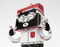 LA BEUBAR - Paper Toys