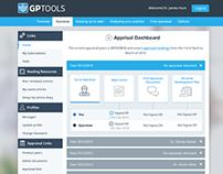 GPTools Dashboard UI/UX