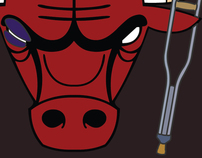 Chicago Bulls 2012 Playoff wallpaper/t-shirt designs