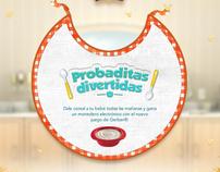 Probaditas Divertidas - La hora del Cereal, Nestle