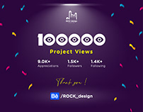 100000 Project Views
