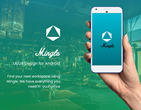 Android Application for Co-working spaces