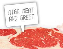 AIGA :: Meat & Greet