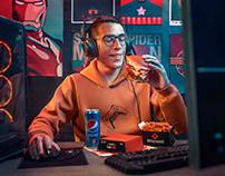 Buffalo Burger Gamers Campaign