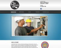 City Service Electric - Web Design