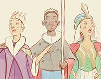 The Three Kings Illustrated