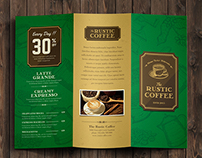 Tri Fold Coffee Brochure