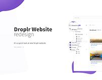 Droplr Website