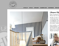 Hotel Plesner - website