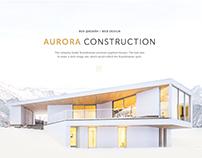 Scandinavian houses | Website concept